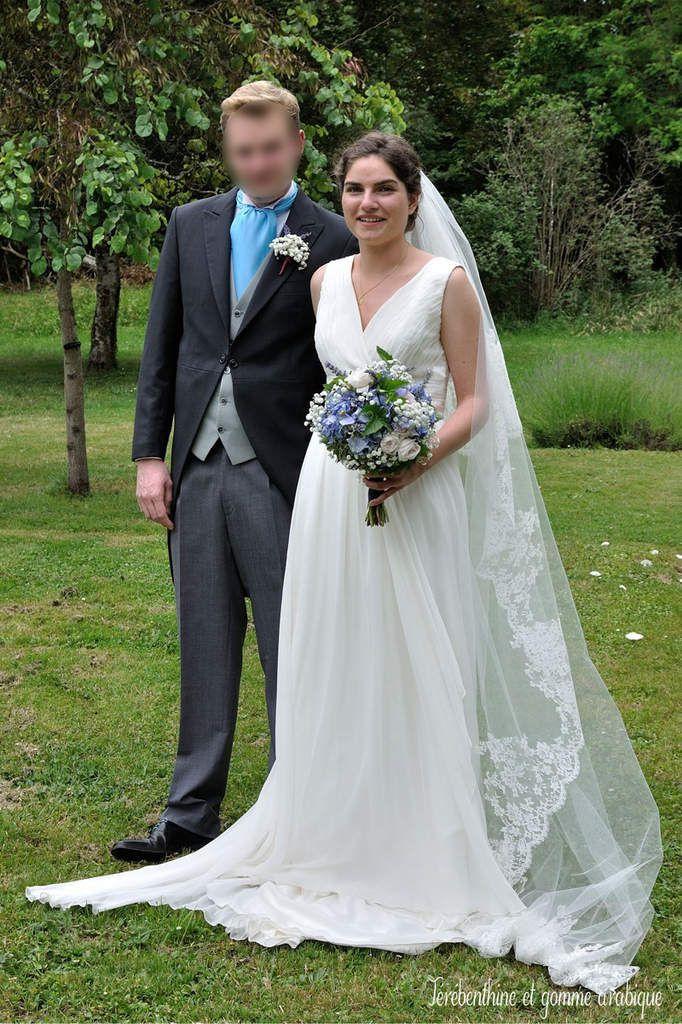 Robe de mariée mousseline Marie S le grand jour