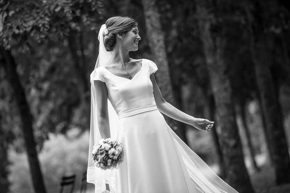 robe Mathilde, jour J