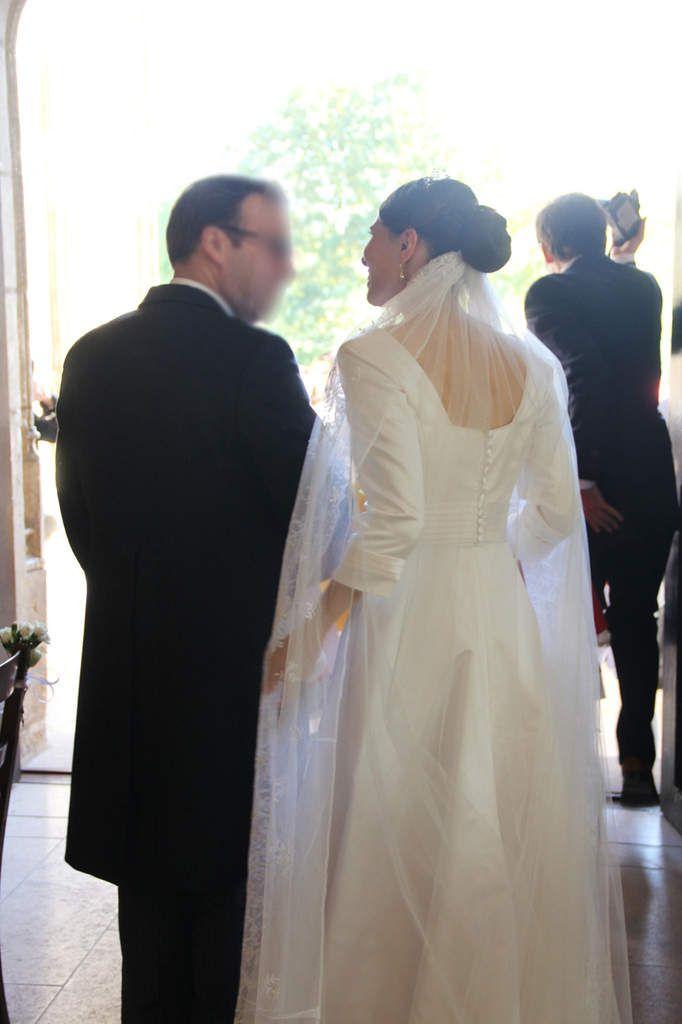robe de mariée Camille Razimir le grand jour