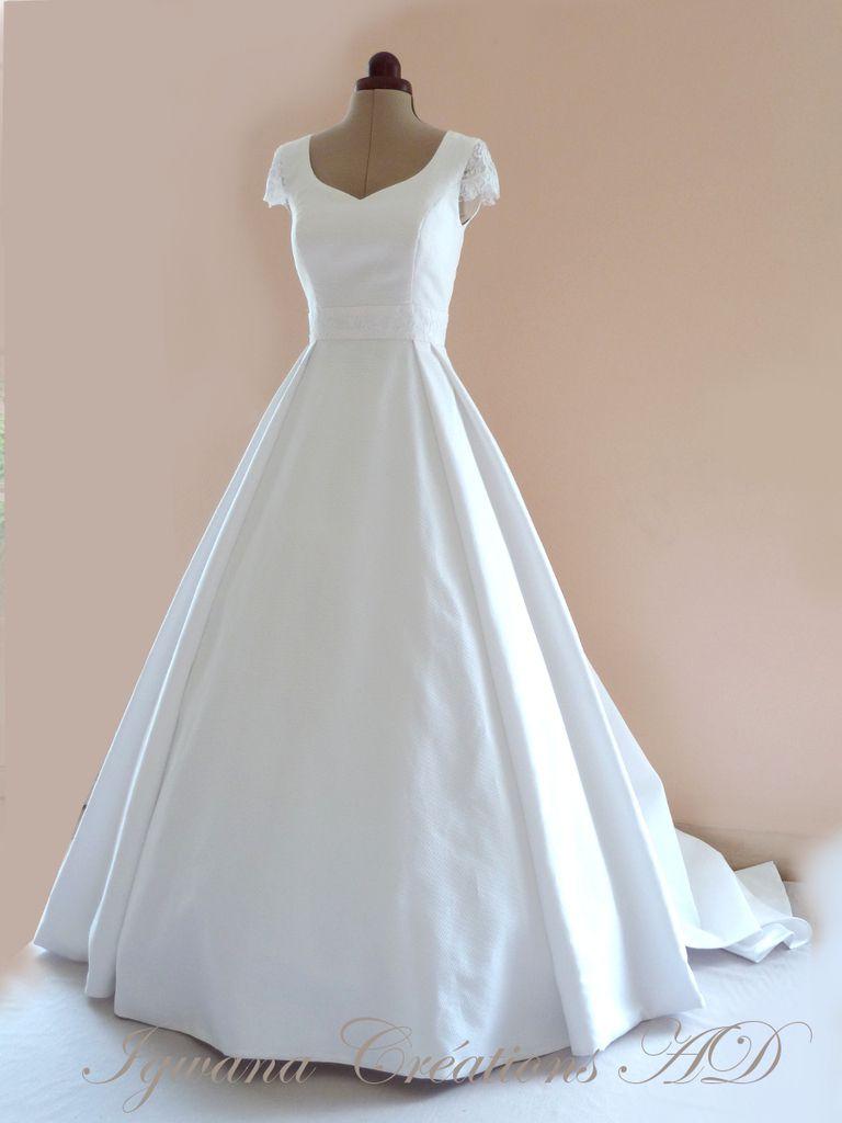 Robes de mariee anne dubois igwana cr ation et for Faire don d une robe de mariée plus ancienne
