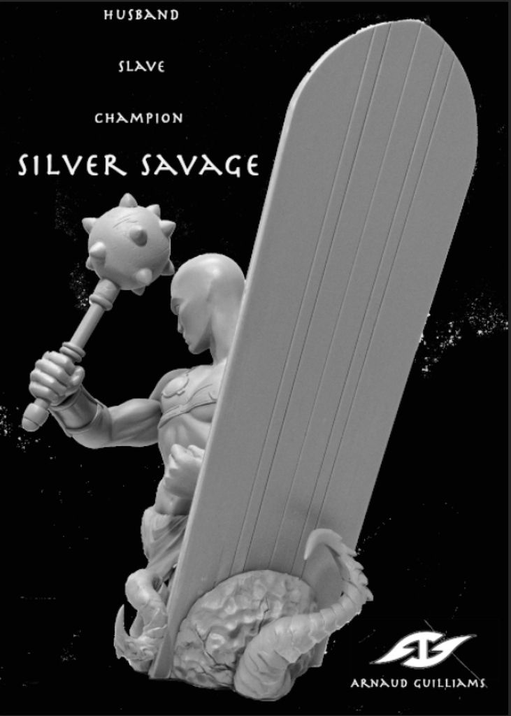 BUST SILVER SAVAGE (WORLDWARHULK)