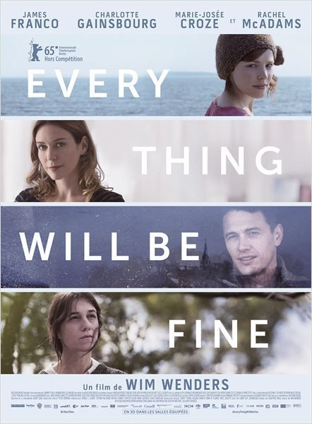 &quot&#x3B;Every thing will be fine&quot&#x3B;, un film de Wim Wenders