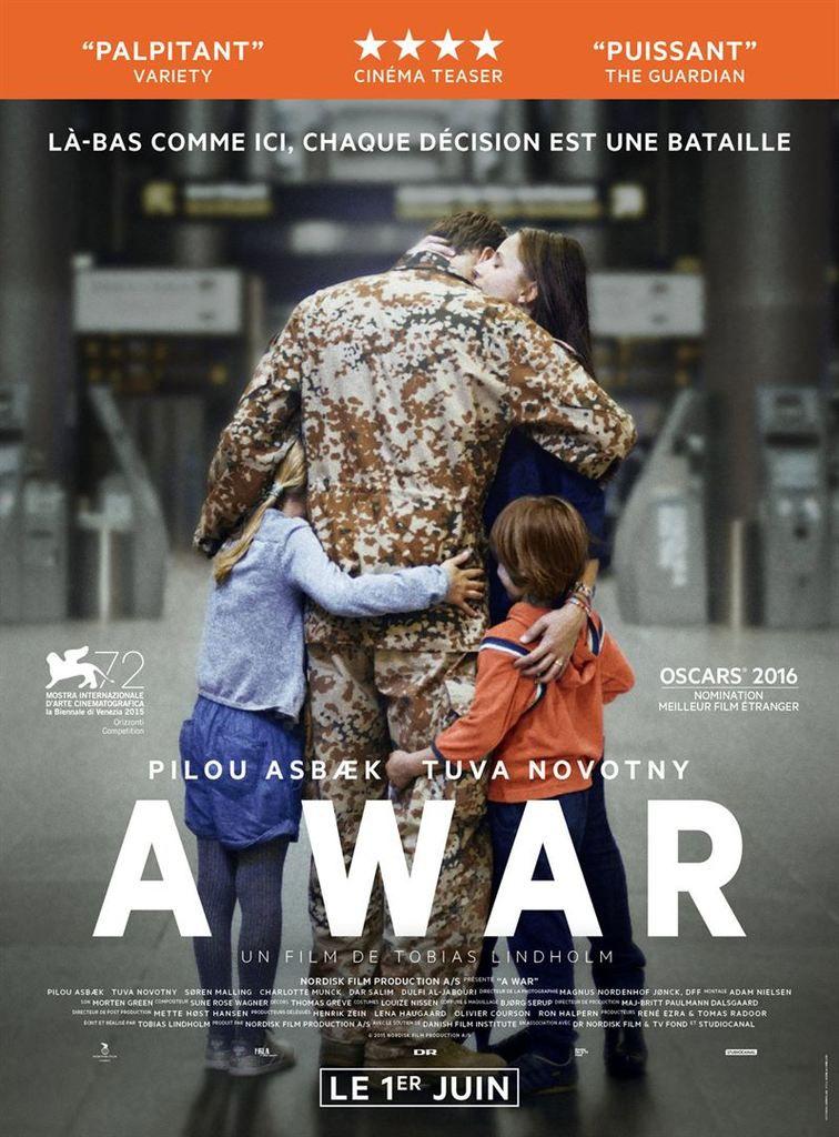 &quot&#x3B;A War&quot&#x3B;, un film de Tobias Lindholm