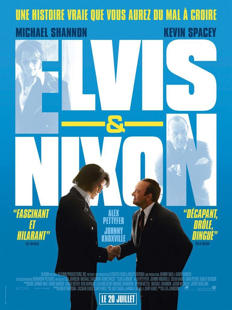 &quot&#x3B;Elvis &amp&#x3B; Nixon&quot&#x3B;, un film de Liza Johnson