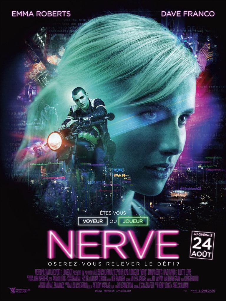 &quot&#x3B;Nerve&quot&#x3B;, un film de Ariel Schulman et Henry Joost