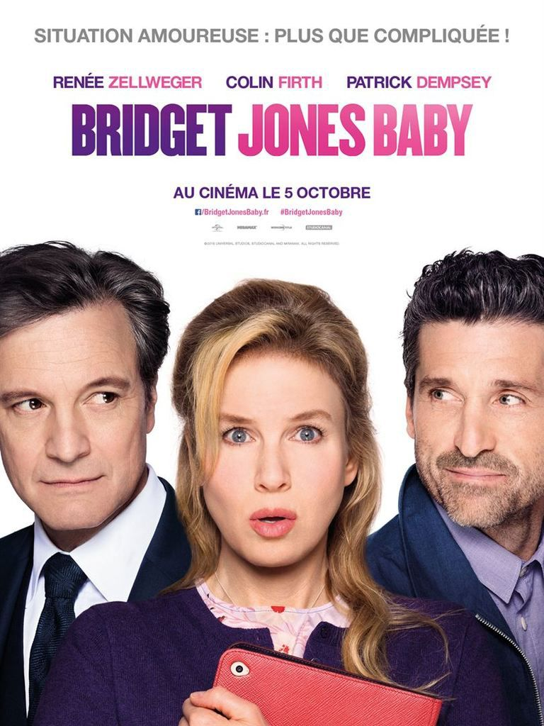 &quot&#x3B;Bridget Jones Baby&quot&#x3B;, un film de Sharon Maguire