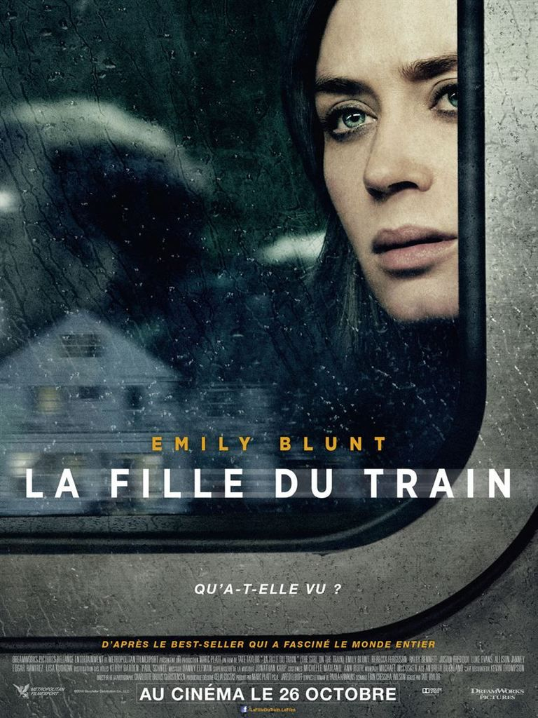 &quot&#x3B;La fille du train&quot&#x3B;, un film de Tate Taylor