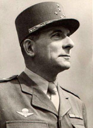 Portrait du maréchal Jean-Marie de Lattre de Tassigny. Source : www.lesfeuillants.com