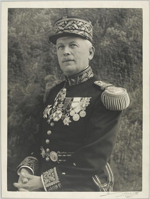 Portrait du général Aubert Frère. Source : Musée de l'armée
