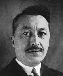 Albert Forcinal en 1932. Source : encyclopédie wikipédia