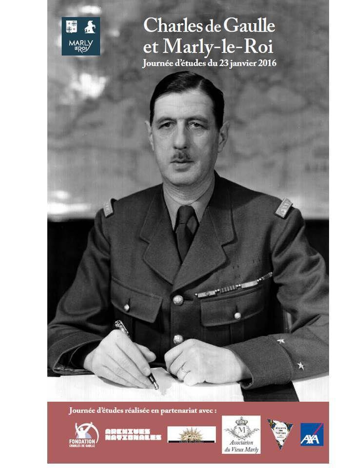 Charles de Gaulle et Marly-le-Roi
