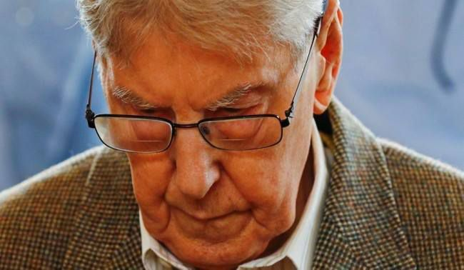 Reinhold Hanning, ancien garde du camp d'Auschwitz (photo AFP)