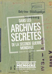Les archives des services spéciaux français
