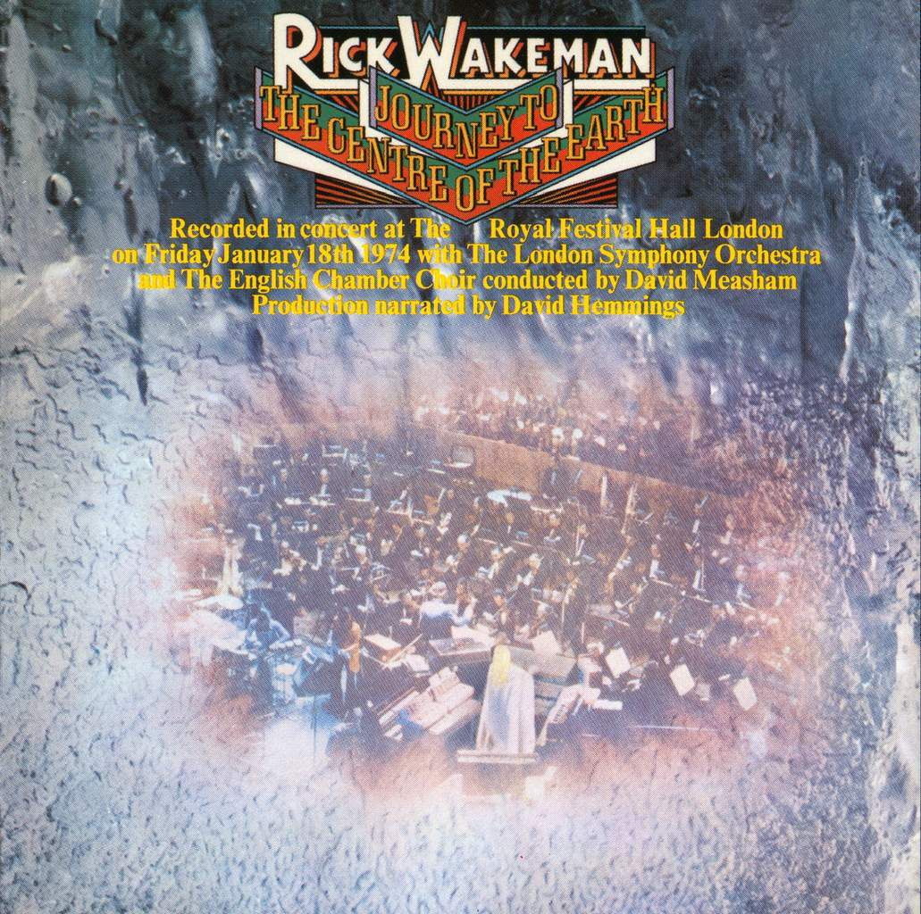 RICK WAKEMAN - Journey To The Centre Of The Earth - mai 1974