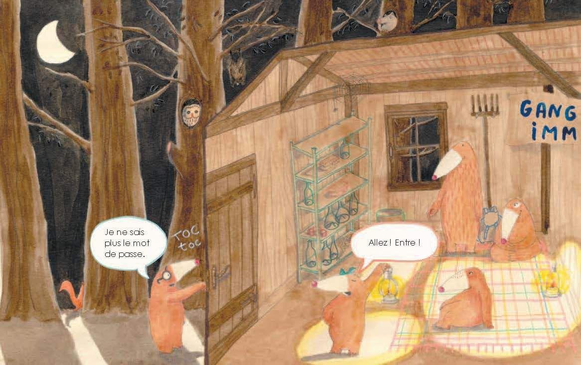1er roman : La forêt est en danger !