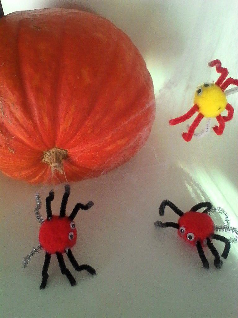 Voici vos araignées d'Halloween