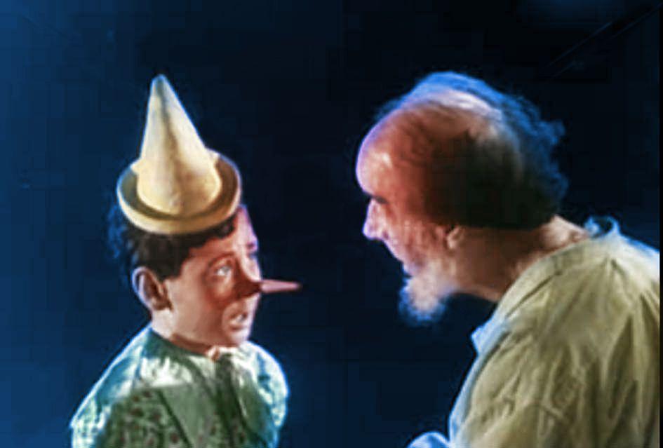Pinocchio 1947. Non quello della Disney... ma quello italiano!
