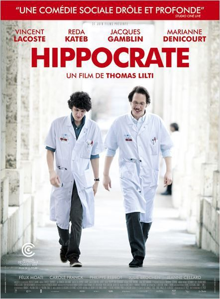 Critique Ciné : Hippocrate, au bout du tunnel