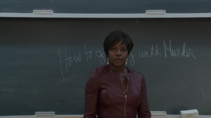 Critiques Séries : How To Get Away With Murder. Saison 1. Pilot.