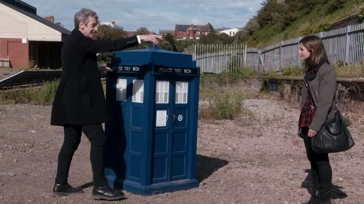 Critiques Séries : Doctor Who (2005). Saison 8. Episode 9.