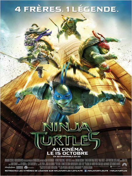 Critique Ciné : Ninja Turtles, jeu avant tout