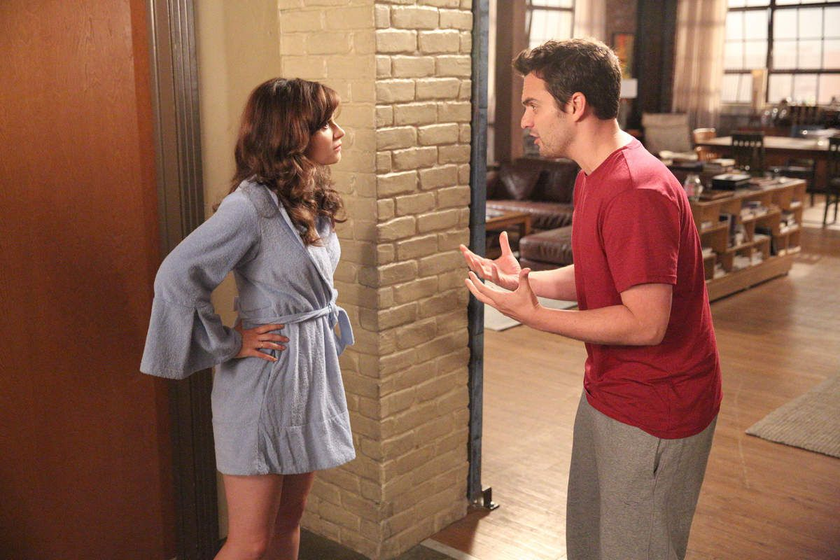 Critiques Séries : New Girl. Saison 4. Episode 7. Goldmine.