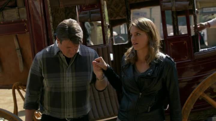Critiques Séries : Castle. Saison 7. Episode 7. Once Upon a Time in the West.