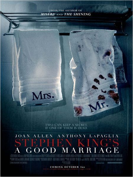 Critique Ciné : A Good Marriage, Stephen King serial killer
