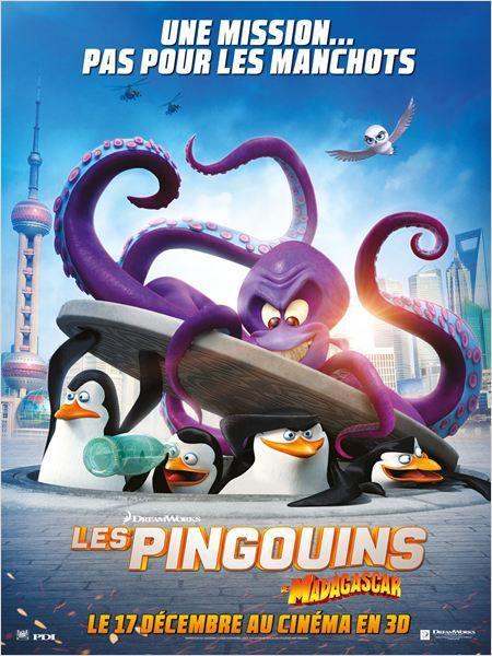 Critique Ciné : Les Pingouins de Madagascar, et le poulpe violet