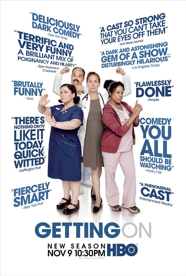 Critiques Séries : Getting On (US). Saison 2. BILAN.