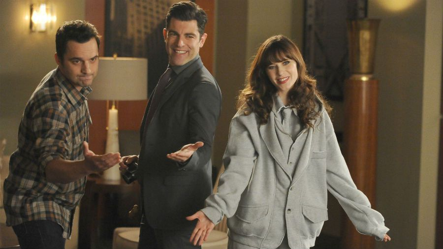 Critiques Séries : New Girl. Saison 4. Episode 14. Swuit.