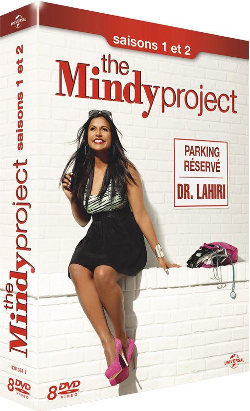 La saison 1 et 2 de The Mindy Project en DVD le 24 mars prochain !