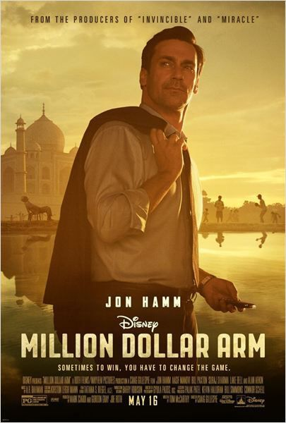Critique Ciné : Million Dollar Arm, le baseball ou la vie