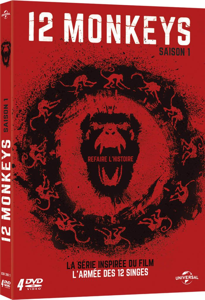 La saison 1 de 12 Monkeys en DVD et Blu-Ray le 26 mai 2015 !