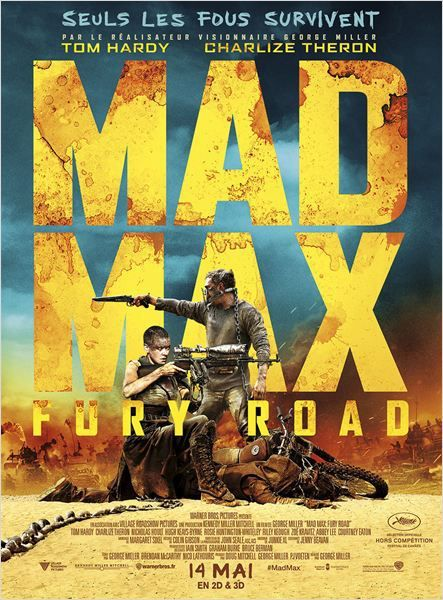 Critique Ciné : Mad Max - Fury Road