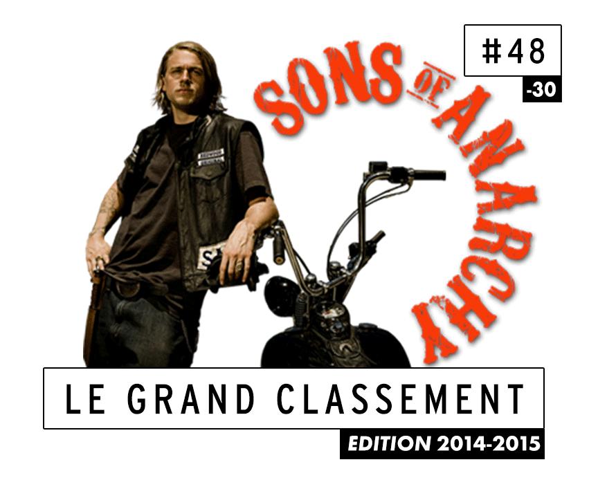 [CLASSEMENT] - 48 - Sons of Anarchy (Saison 7)