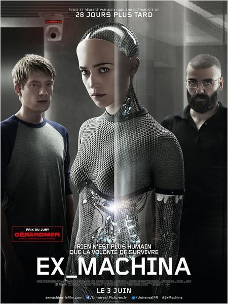 Critique Ciné : Ex Machina, intelligence artificielle