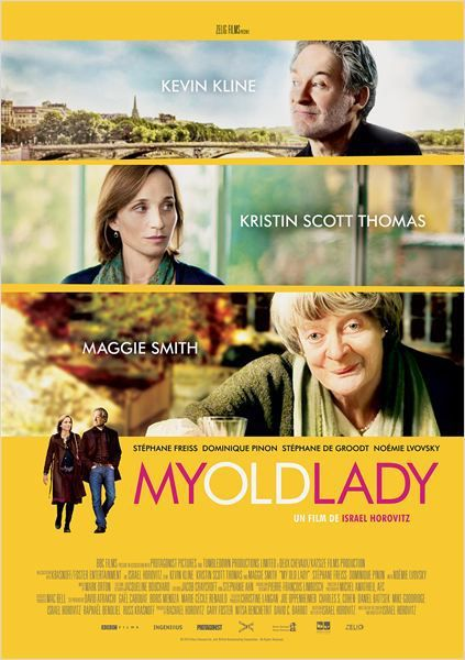 Critique Ciné : My Old Lady, Paris carte postale