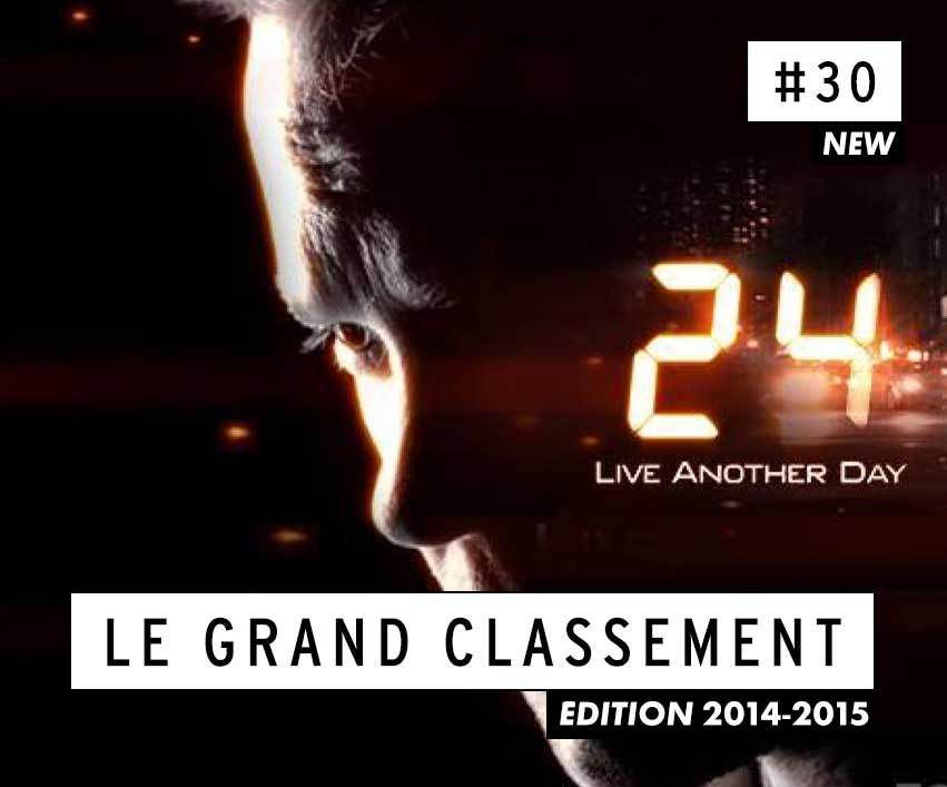 [CLASSEMENT] - 30 - 24 : Live Another Day (Saison 9)