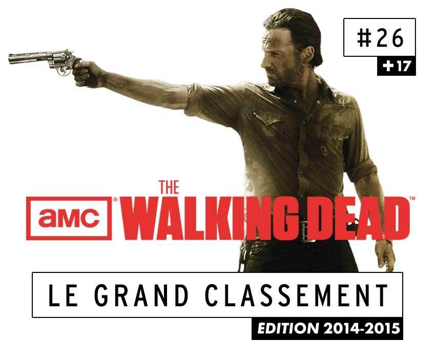 [CLASSEMENT] - 26 - The Walking Dead (Saison 5)