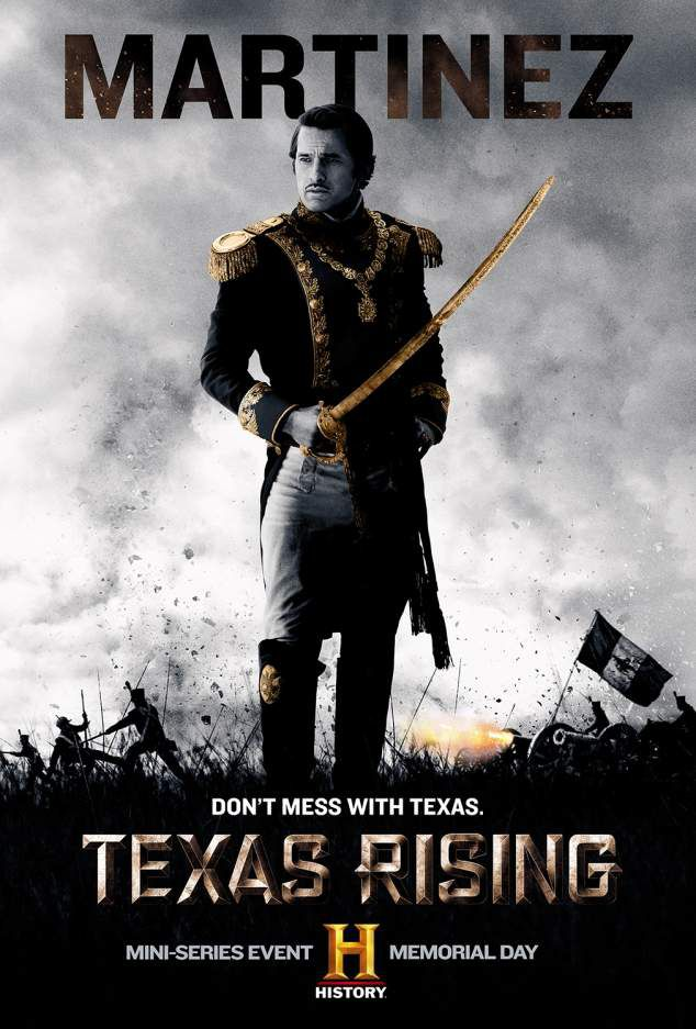 Critiques Séries : Texas Rising. Mini-series. BILAN.
