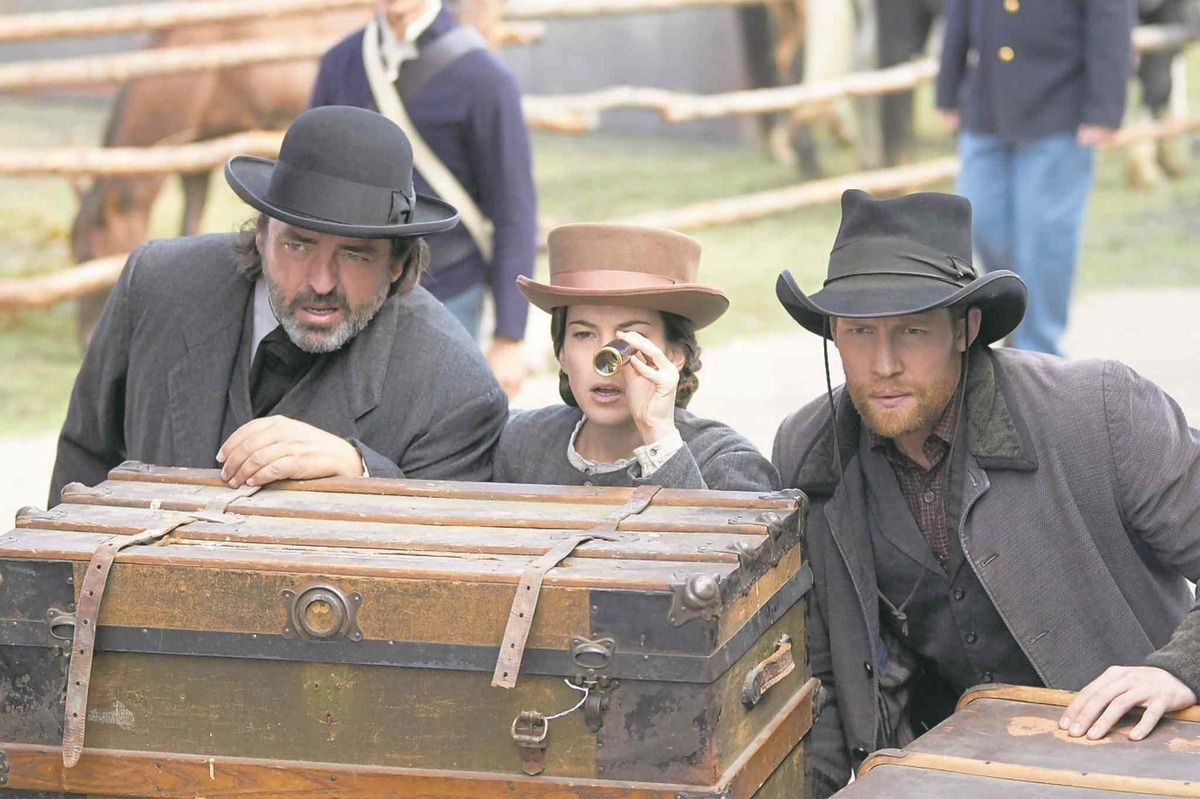 Critiques Séries : The Pinkertons. Saison 1. Pilot (Canada).
