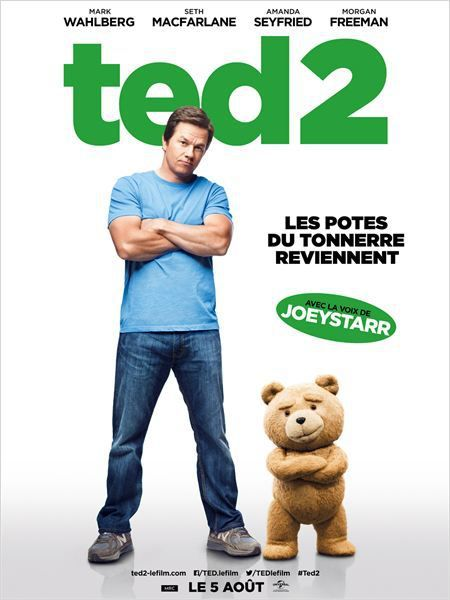Critique Ciné : Ted 2 (2015)