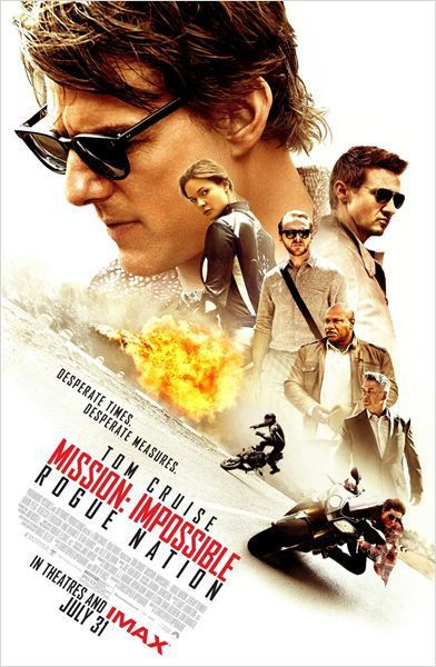 Critique Ciné : Mission Impossible 5 - Rogue Nation (2015)