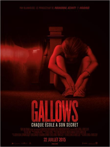 Critique Ciné : Gallows (2015)