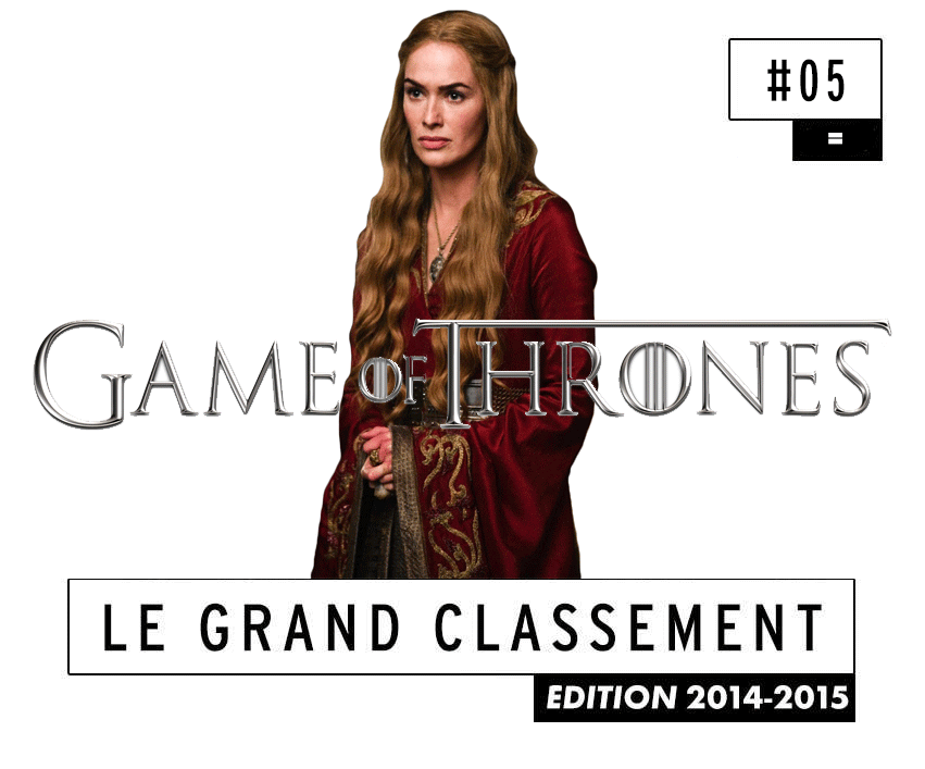 [CLASSEMENT] - 5 - Game of Thrones (Saison 5)