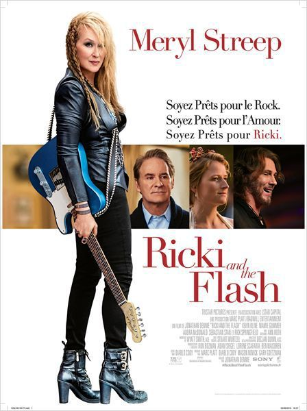 Critique Ciné : Ricki and the Flash (2015)