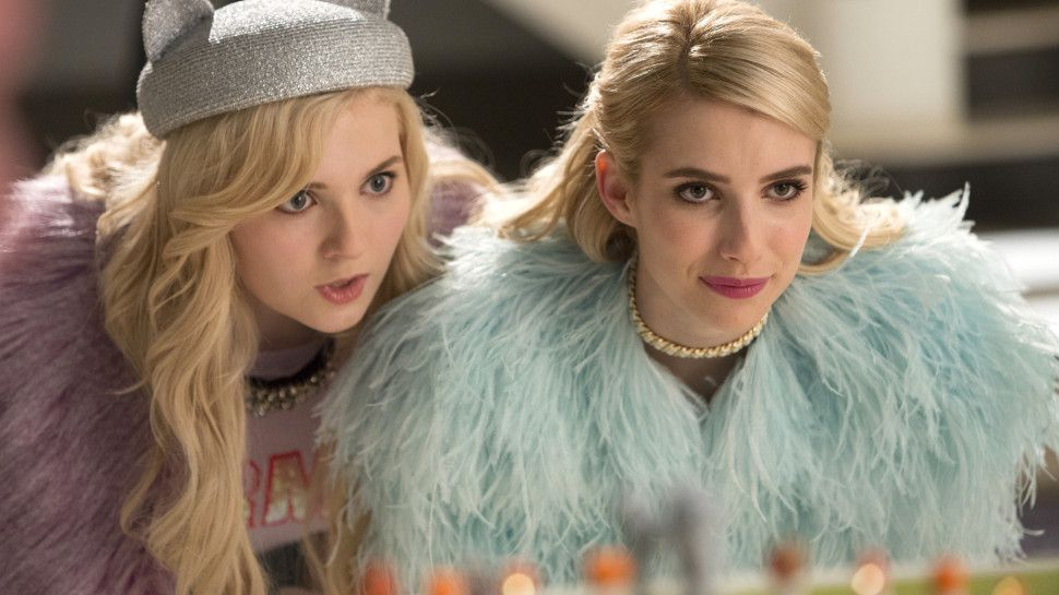 Critiques Séries : Scream Queens. Saison 1. Episode 5.
