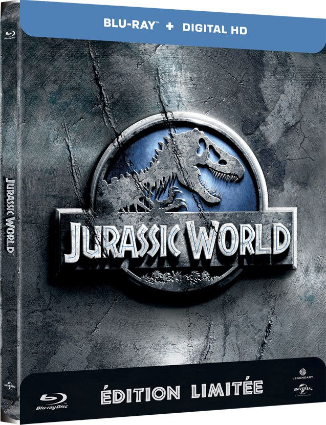 Jurassic World en DVD et Blu-Ray le 20 octobre 2015 !