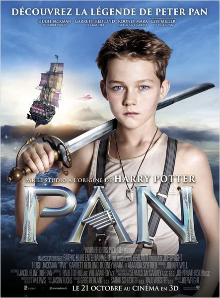 Critique Ciné : Pan (2015)